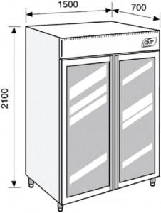 Lacta'Box modèle LB LF 1365 - Simple Température