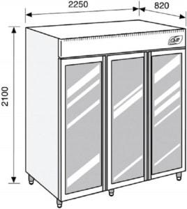 Lacta'Box modèle LB LF 2100 - Simple Température