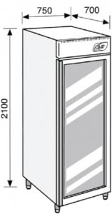 Lacta'Box modèle LB LF 625 - Simple Température