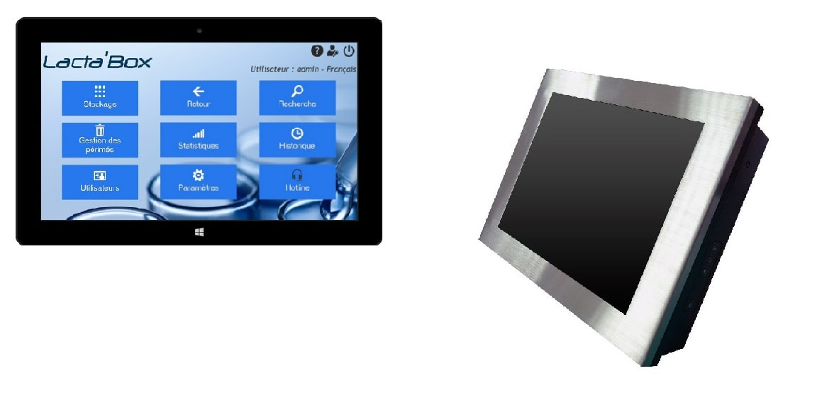Tablet and touchscreen Lacta'Box